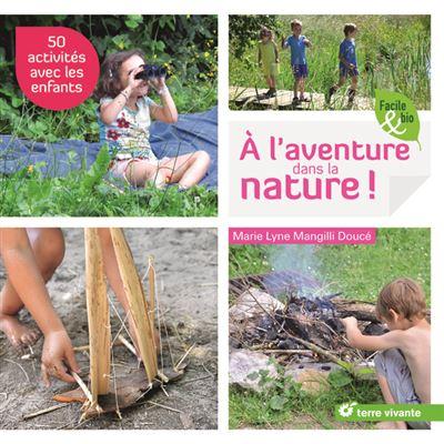 Couverture du livre À l'aventure dans la nature